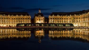 La Place de la Bourse à Bordeaux, ville numéro un du palmarès