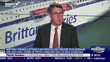 Jean-Marc Roué (Brittany Ferries): Brittany Ferries s'attend à un exercice 2021 encore plus dégradé que 2020 - 21/07