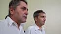 Les deux pilotes sont accusés d'avoir transporté sciemment de la cocaïne.