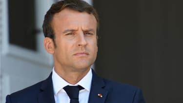 Emmanuel Macron en août 2017 (photo d'illustration)