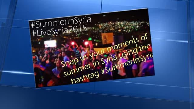 La campagne de l'agence officielle syrienne Sana n'a pas suscité l'adhésion.