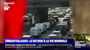 Les embouteillages reprennent dans les grandes villes, signe d'un retour à la normale ?