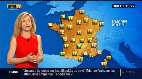 La météo pour ce samedi 9 mai 2015