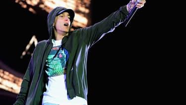 Eminem sur scène en août 2014