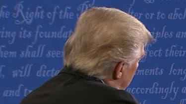 Donald Trump et Hillary Clinton lors du premier débat télévisé.