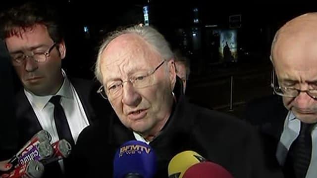Roger Cukierman, le président du Crif a regretté la décision du CFCM de ne pas participer au 30e dîner du Crif, ce lundi soir.