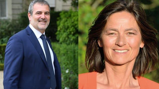Les députés LaREM Raphaël Gérard et Sandrine Mörch