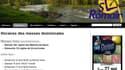 Le site internet d'une des paroisses piratées ce week-end.