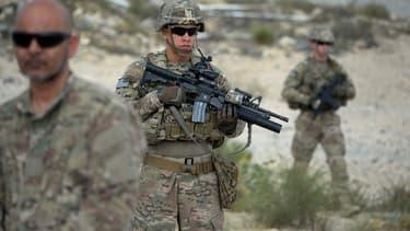 Des soldats américains dans la province de Nangarhar