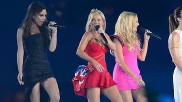 Les Spice Girls en 2012, lors de la cérémonie de clôture des JO de Londres.
