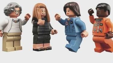 Les quatre nouvelles figurines Lego à l'image de quatre femmes qui ont marqué l'histoire de la Nasa