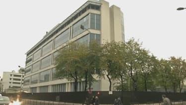 Siège de la Direction centrale du renseignement intérieur et de la sous-direction antiterroriste à Levallois-Perret