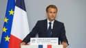 Emmanuel Macron aux Assises de la Santé mentale ce mardi.