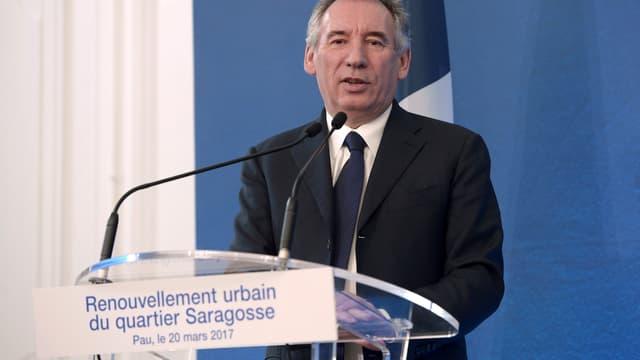 Le président du MoDem, François Bayrou