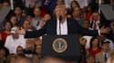 Donald Trump devant ses partisans en Floride.