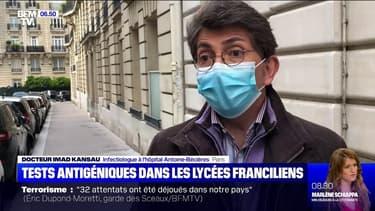 Covid-19: le dépistage par test antigénique possible à partir de ce lundi dans 30 lycées franciliens