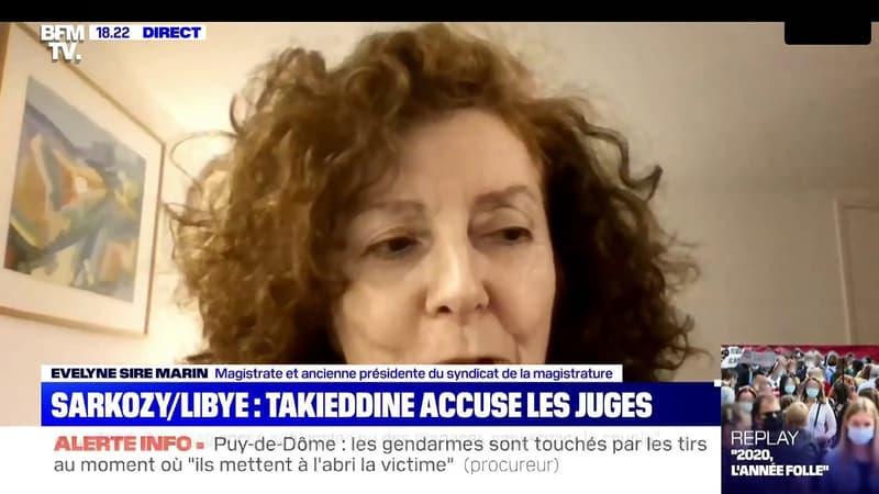 Financement libyen: pour la magistrate Evelyne Sire Marin, les écrits de Ziad Takieddine
