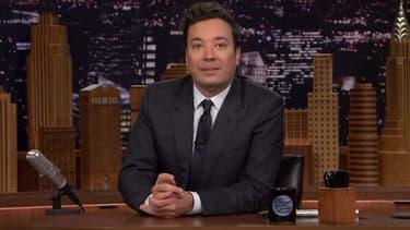 Jimmy Fallon dans le Tonight Show