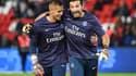 Alphonse Areola & Gianluigi Buffon