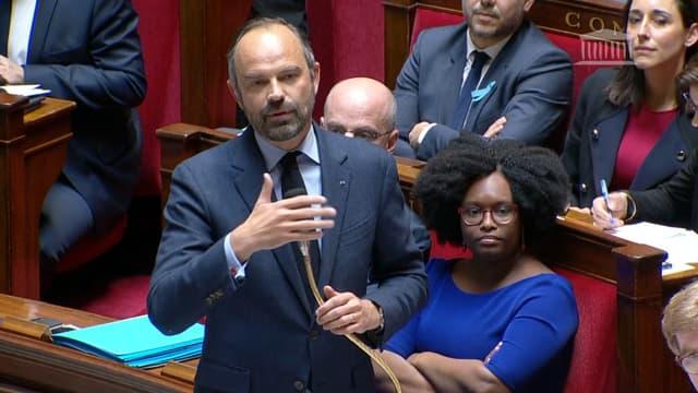 Edouard Philippe à l'Assemblée nationale le 2 avril 2019