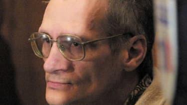 Francis Heaulme lors de son procès à Metz, en 2001.