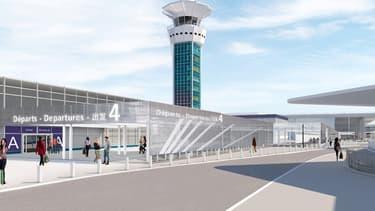 Un nouveau bâtiment reliera le terminal Sud au terminal Ouest. Et ces dénominations historiques disparaîtront.