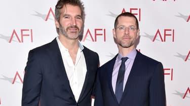 David Benioff and Dan Weiss à Los Angeles le 6 janvier 2017