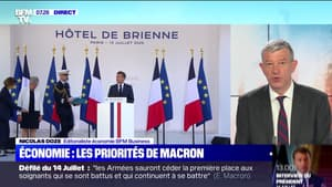 Les priorités de Macron dans le domaine de l'économie - 14/07
