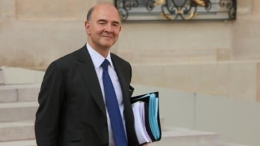 """2014 sera la première année de """"vraie croissance"""" depuis trois ans, selon Pierre Moscovivi."""