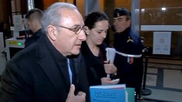Le docteur Hazout le 4 février dernier, avant l'audience.