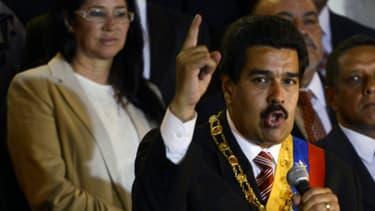 Le chef de l'Etat vénézuélien Nicolas Maduro.