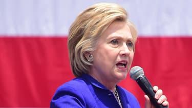 Hillary Clinton, durant son dernier jour de campagne en Californie, le 6 juin 2016. - Frederic J. Brown - AFP