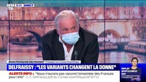 """Jean-François Delfraissy: """"On a affaire à un virus diabolique et beaucoup plus intelligent qu'on ne le pense"""""""