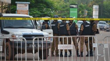Patrouille de police à Ouagadougou (illustration)