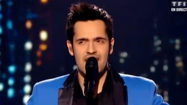 """Yoann Fréget est le vainqueur de """"The Voice"""" 2013."""
