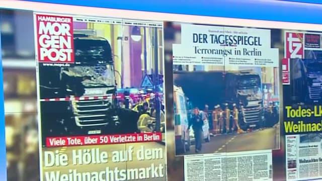 Les unes de la presse allemande ce mardi 20 décembre 2016.