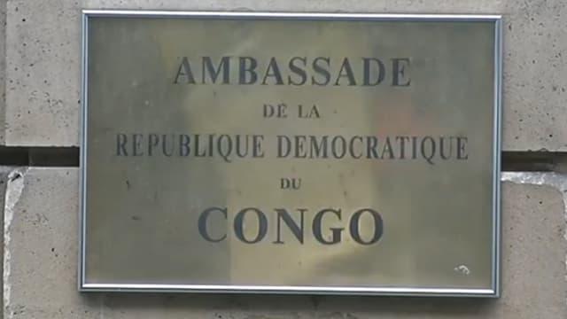 L'ambassade de la République Démocratique du Congo à Paris.