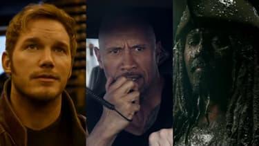 """De nouvelles bandes-annonces des """"Gardiens de la Galaxie Vol. 2"""", """"The Fate and The Furious"""" et """"Pirates des Caraïbes 5"""" ont été diffusées pendant  les publicités du Super Bowl."""