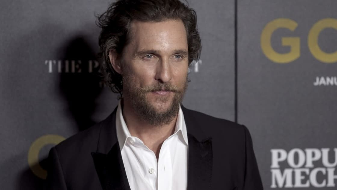 Matthew McConaughey envisage de devenir gouverneur du Texas - BFMTV