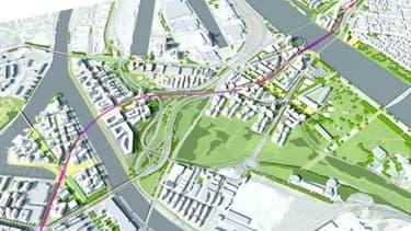 Le schéma directeur du projet des Deux Rives, à Strasbourg