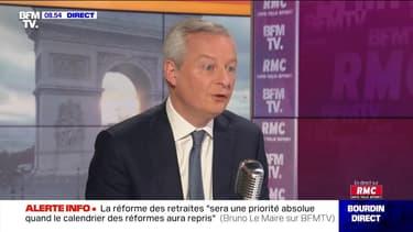 Bruno Le Maire face à Jean-Jacques Bourdin en direct  - 04/12