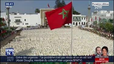 Les images des célébrations pour les 20 ans de règne de Mohammed VI au Maroc
