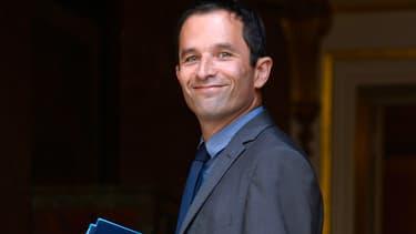 Benoît Hamon le 21 août dernier à Matignon.