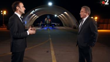 Emmanuel Macron et Michel Drucker le 25 décembre sur France 2
