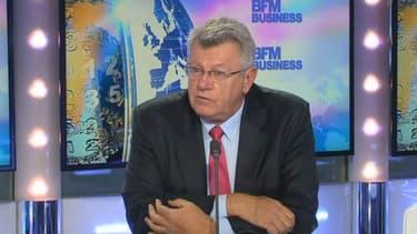 """Christian Eckert, secrétaire d'Etat au Budget, a estimé que le déficit, en 2014, sera """"au-dessus"""" de 4%"""