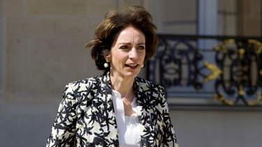 Marisol Touraine, en mai dernier, dans la cour de l'Elysée.