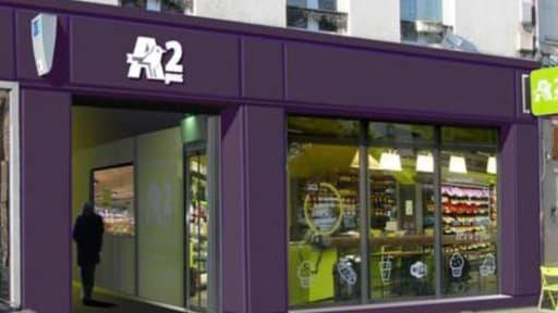 Auchan compte actuellement un réseau de 18 enseignes A2Pas.