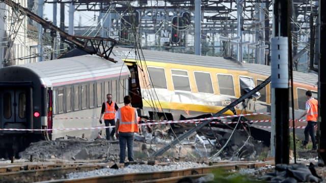 Le déraillement d'un train à Brétigny-sur-Orge, ce vendredi, a fait plusieurs victimes.