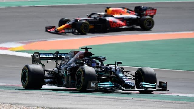 Hamilton et Verstappen sur le GP du Portugal