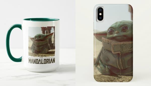 "Le merchandising ""Baby Yoda"""